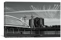 Architectural Sky's, Canvas Print