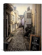 Oxford Historical Lanes, Canvas Print
