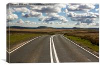 The Road Home, Canvas Print