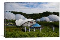 The Eden Project (Cornwall), Canvas Print