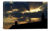 Every Cloud Has A Silver Lining, Canvas Print