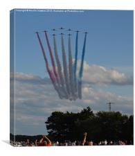 The Red Arrows (1/3), Canvas Print