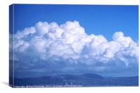 Clouds over Port Talbot, Canvas Print