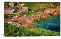 Penberth Cove, Cornwall, Canvas Print