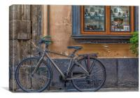 Bicycle in Sorrento, Canvas Print