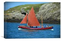 Cemaes Life Boat, Canvas Print