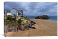 St Catherine's Island, Tenby                      , Canvas Print
