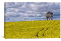 Chesterton Windmill in Warwickshire, Canvas Print