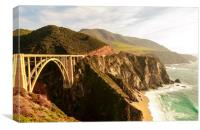 California Pacific Coast Road Trip 0575, Canvas Print