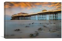 Cromer Pier Collection, Canvas Print