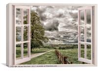 Window to the Weather, Canvas Print
