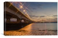 Second Severn Crossing, Canvas Print