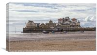The Knightstone Island complex , Canvas Print