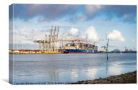 Port of Southampton, England, Canvas Print
