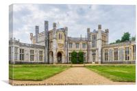 Highcliffe Castle in Dorset, England, UK, Canvas Print