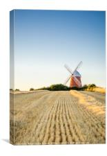 Halnaker Windmill in West Sussex, England, Canvas Print