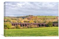 Hockley Viaduct in Hampshire, UK, Canvas Print
