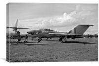 Gloster Javelin 4th prototype WT830, Canvas Print