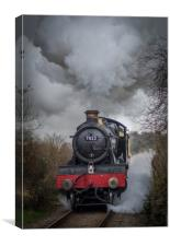 GWR 7822 'Foxcote Manor' , Canvas Print