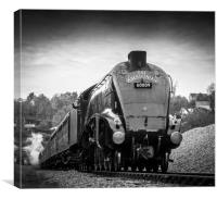 LNER Class A4 4488/60009 Union of South Africa, Canvas Print