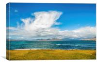 Landscape, Mountains of North Harris, Sound of Tar, Canvas Print