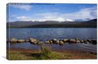 Snow on the Cairngorm Mountains, Canvas Print