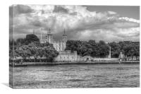Tower of London, Canvas Print