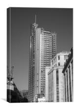 The Heron Tower, Canvas Print