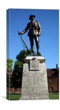 Kings Royal Rifle Corps Memorial in Winchester, Canvas Print