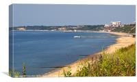 Poole Bay - June 2010, Canvas Print