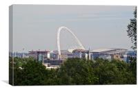 Wembley Stadium, Canvas Print