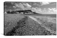 Sidmouth is a town on the South Devon coast. It ha, Canvas Print