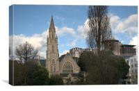 Richmond Hill St. Andrews Church Skyline, Canvas Print