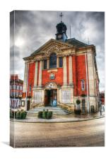 Henley-on-Thames Town Hall, Canvas Print