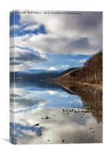 Loch Earn, Scotland, Canvas Print