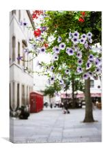 Spring in London, Canvas Print