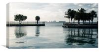 Welcome to Miami , Canvas Print