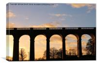 Viaduct, Canvas Print