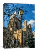 St Cuthberts Durham Cathedral, Canvas Print