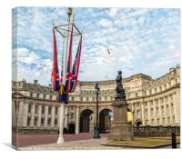 London Admirality Arch, Canvas Print
