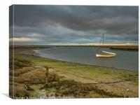 Before the Storm at Morston Norfolk, Canvas Print