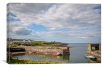 The Walk from Craster Harbour , Canvas Print