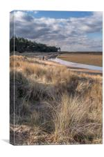 A Good Walk at Holkham, Canvas Print