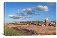 Cley next the Sea , Canvas Print