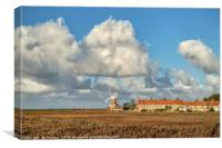 Cley Windmill Standing Proud, Canvas Print