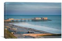 Cromer Beach, Canvas Print