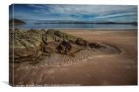 Firemore Sands, Poolewe, Canvas Print