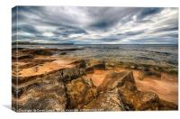 Hopeman Beach, Moray, Canvas Print