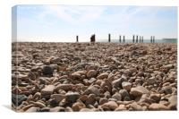Pebbles are the new sand, Canvas Print