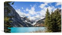 Lake Louise Banff Canada, Canvas Print